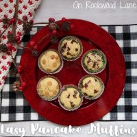 Pancake Muffins - Featured Link Party 380