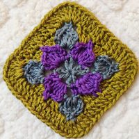 Picot Flower Square - Featured Party 381