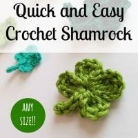 Quick and Easy Shamrock - Free Pattern Friday
