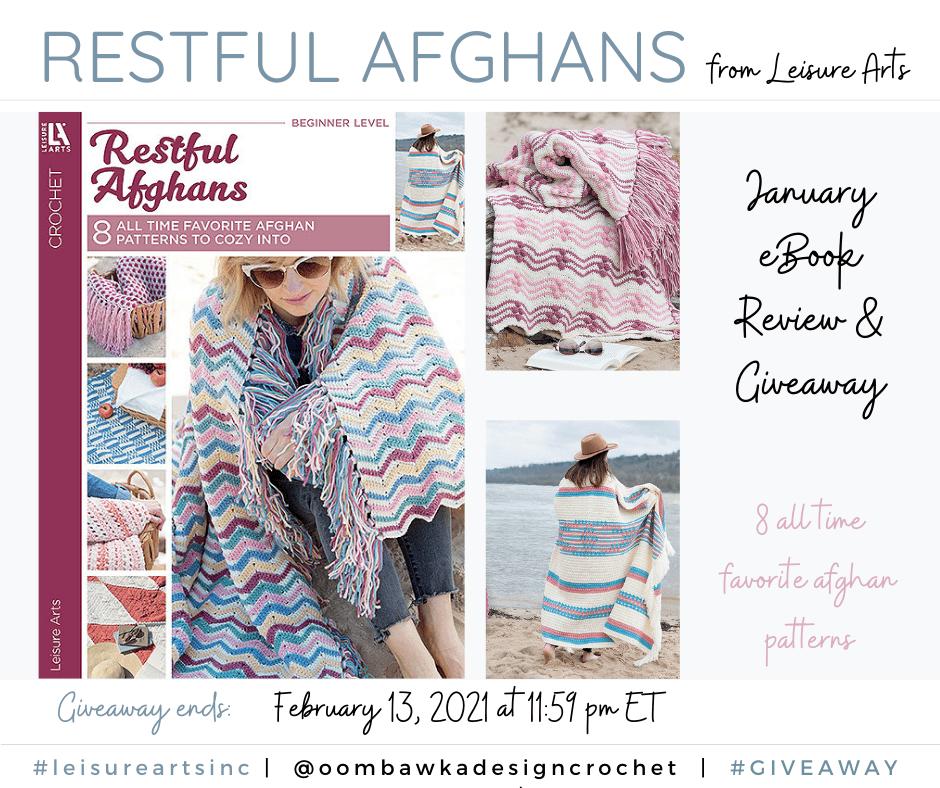 Restful Afghans January eBook Leisure Arts FB