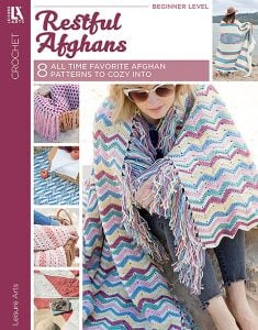 Restful Afghans - Leisure Arts - eBook Review January 2021