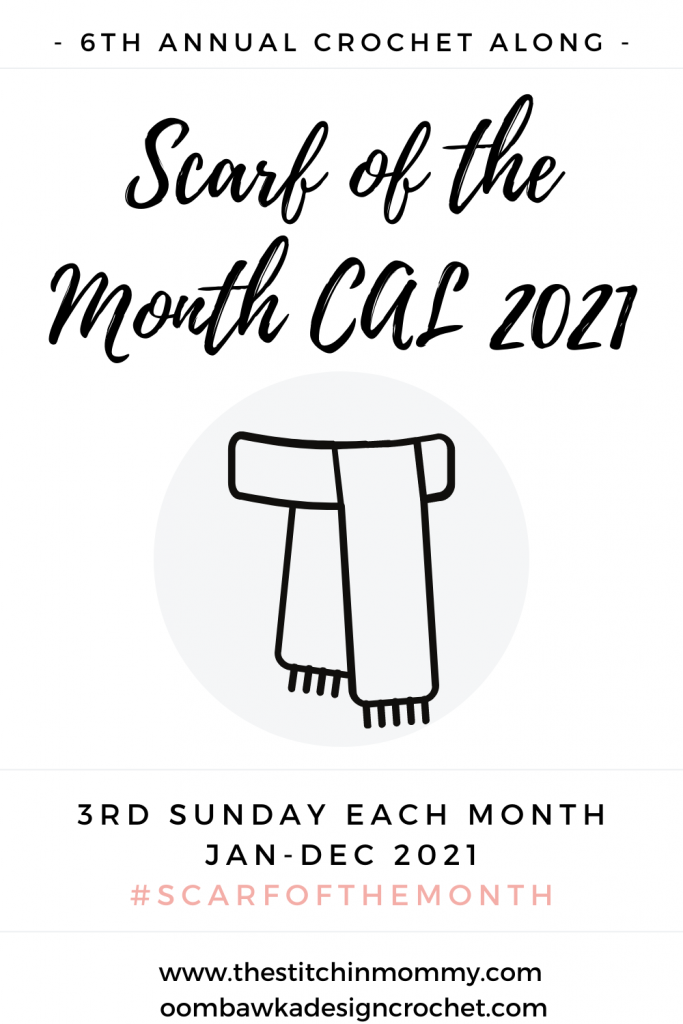 Scarf of the Month CAL 2021