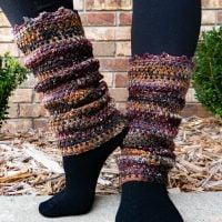 Sesame Leg Warmers - Free Pattern Friday