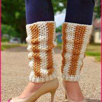 Vertical Striped Leg Warmers - Free Pattern Friday