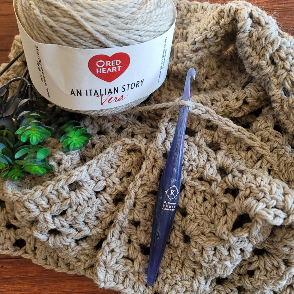 Scarf of the Month January - Yarn and Hook - 2021 Here We Go Again Scarf