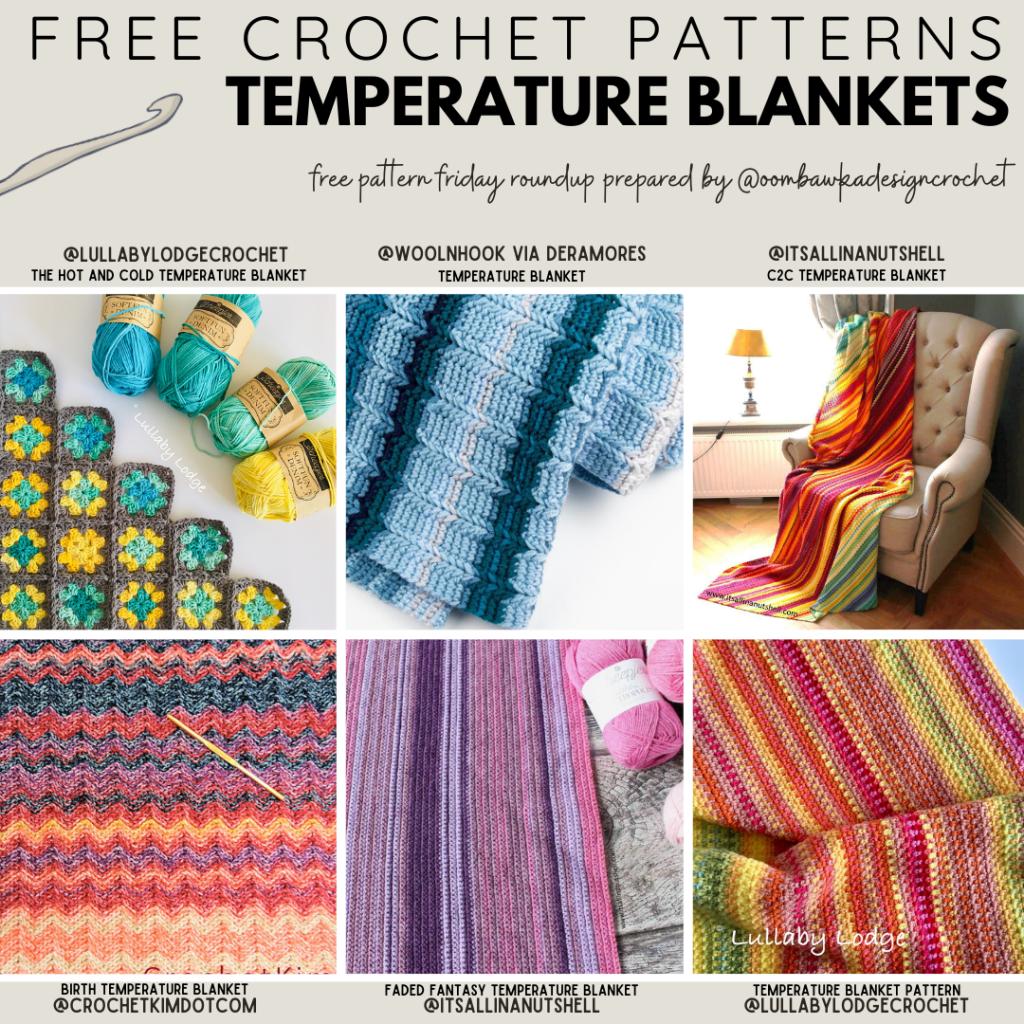 Free Temperature Blanket Patterns - Free Pattern Friday