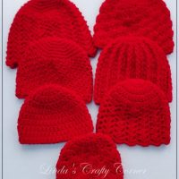 A Little Collection of Baby Hats - Wednesday Link Party 385