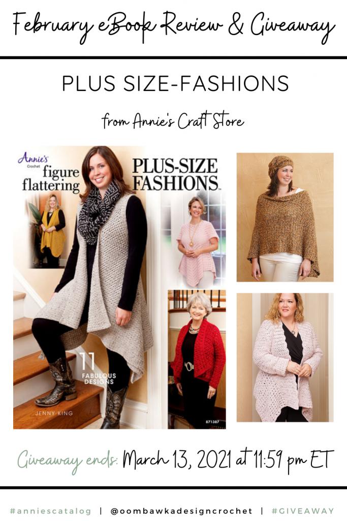 Figure Flattering Plus Size Fashions Crochet Patterns