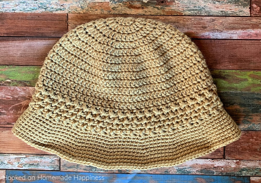 Basket Weave Bucket Hat - Free Pattern Friday