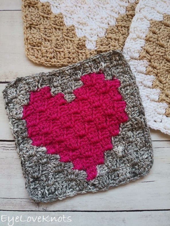 C2C Enamored Heart - Wednesday Link Party 384