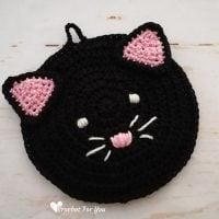Cat Potholder - Free Pattern Friday