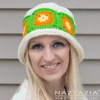 Citrus Splash Hat - Free Pattern Friday