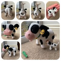 Cow with Calf Pattern - Crochet Pattern Finds