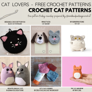 Crochet Cat Patterns Free Pattern Friday