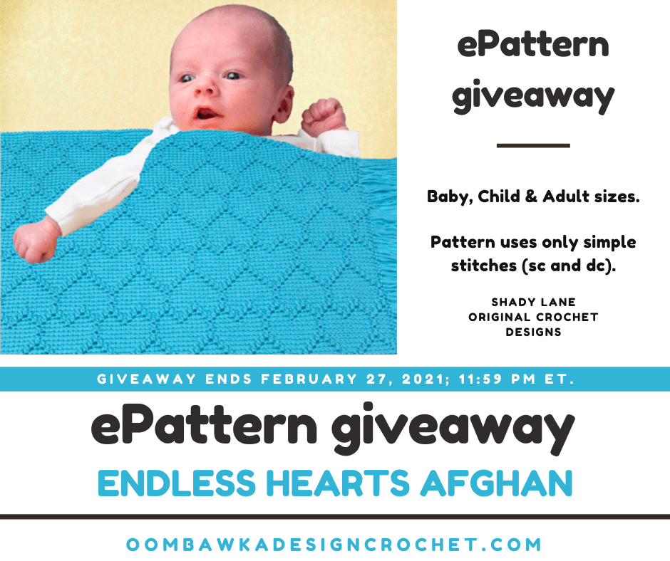 Endless Hearts Afghan Review and Giveaway