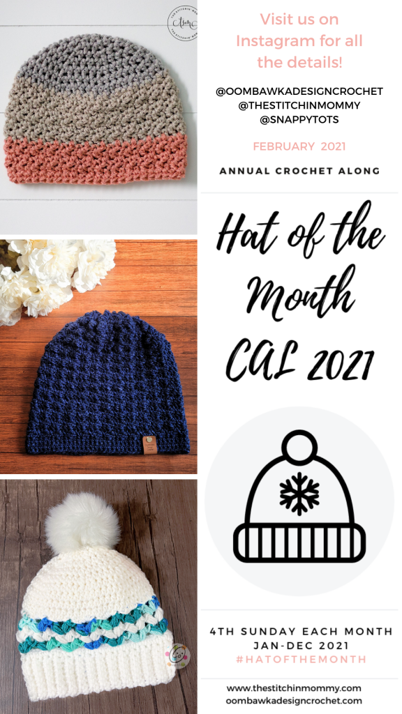FEBRUARY Hat of the Month CAL 2021 Stories