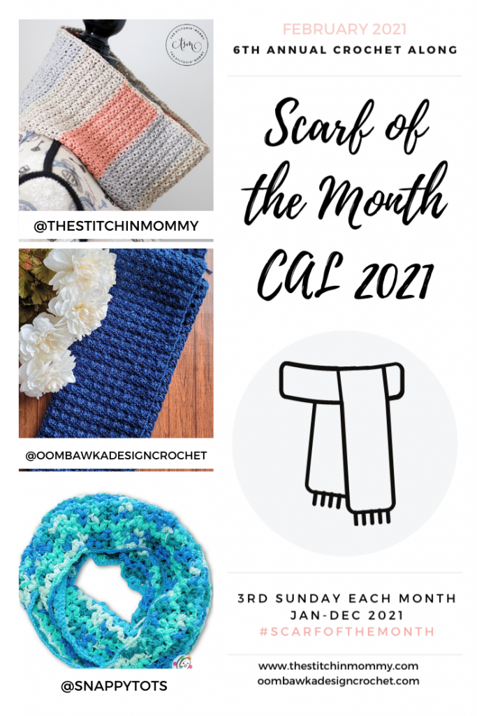 February Scarf of the Month CAL 2021