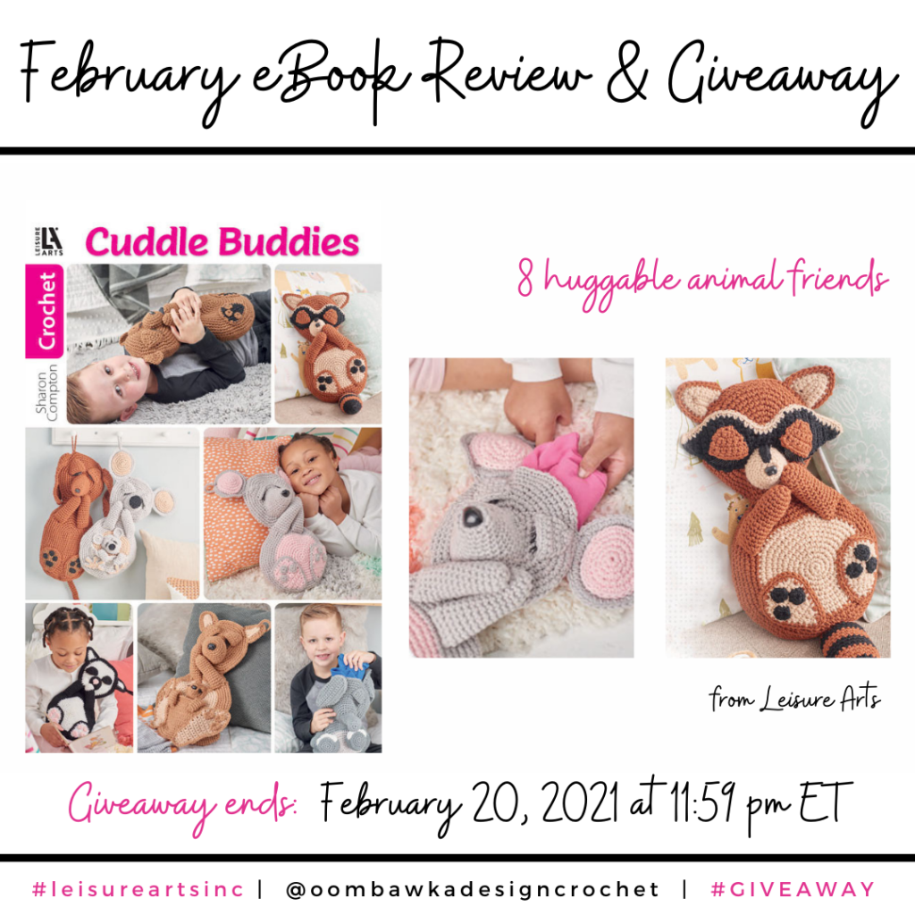 February Cuddle Buddies eBook Leisure Arts INSTAGRAM