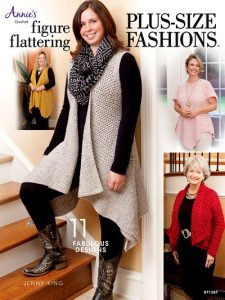 Figure Flattering Plus Size Fashions - Annies Craft Store - Book Review