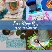 17 Free Crochet Mug Rug Patterns