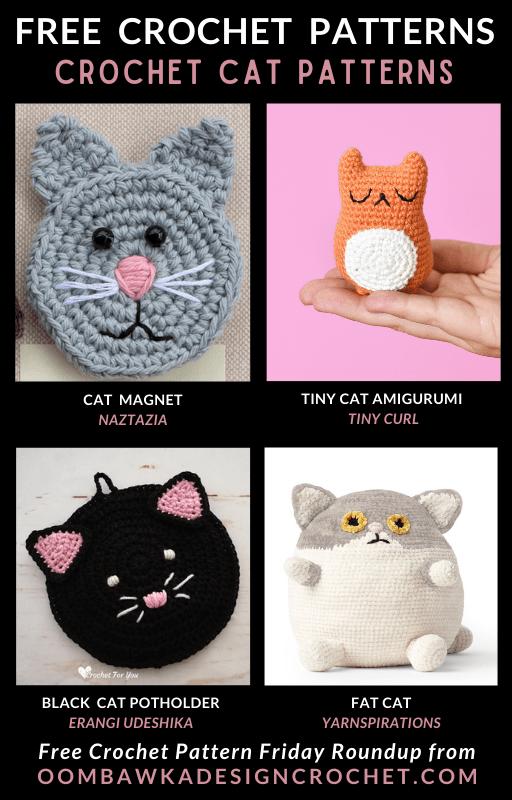 Free Pattern Friday Crochet Cat Patterns