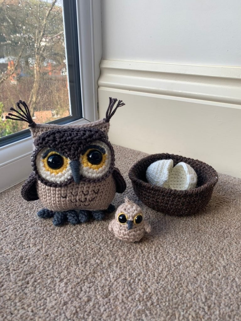 Owl and Owlet Pattern - Crochet Pattern Finds
