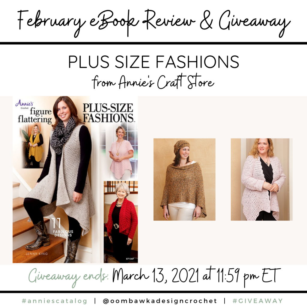 Figure Flattering Plus Size Fashions Crochet Pattern Book