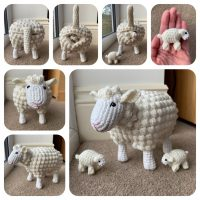 Sheep with Lamb Crochet Pattern - Crochet Pattern Finds
