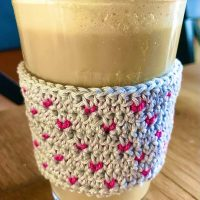 Tiny Hearts Cup Cozies - Wednesday Link Party 385