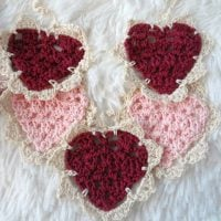 Vintage Crochet Bunting - Wednesday Link Party 384