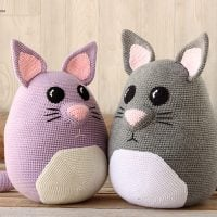 Weighted Snuggle Cat - Free Pattern Friday