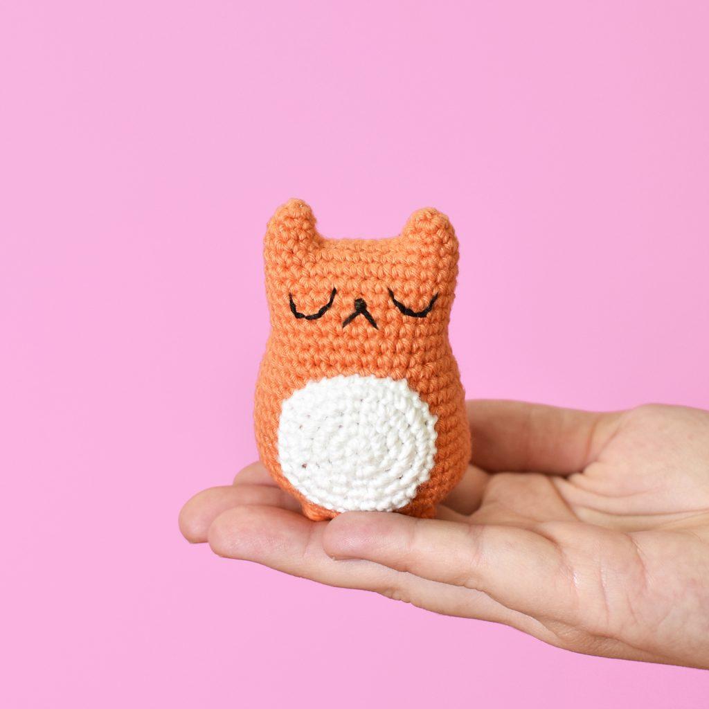 Tiny Cat Amigurumi - Free Pattern Friday