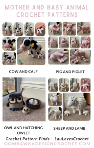 Mother and Baby Animal Patterns - Crochet Pattern Finds