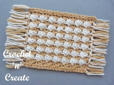 Crochet Mug Rug - Free Pattern Friday