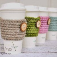 15 Min Coffee Sleeve - Free Pattern Friday