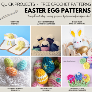 2021 Easter Egg Patterns - Free Pattern Friday