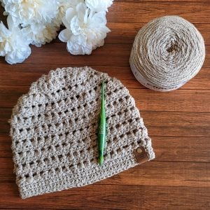 2021 Happy to Be Here Hat Pattern - Crochet Hat of the Month March 2021