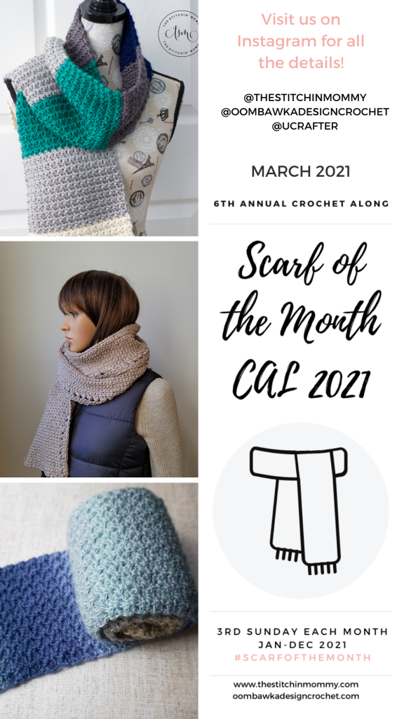 2021 March Scarf of the Month CAL Stories