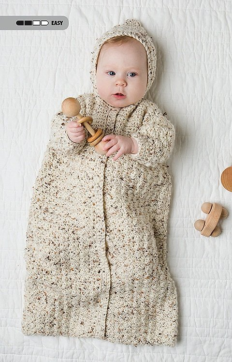 Baby Bunting - Tiny Tot Accessories - Leisure Arts