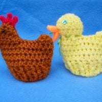 Chick and Duck Egg Cozy - Free Pattern Friday