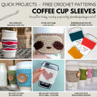 Coffee Cup Sleeve Free Pattern Friday