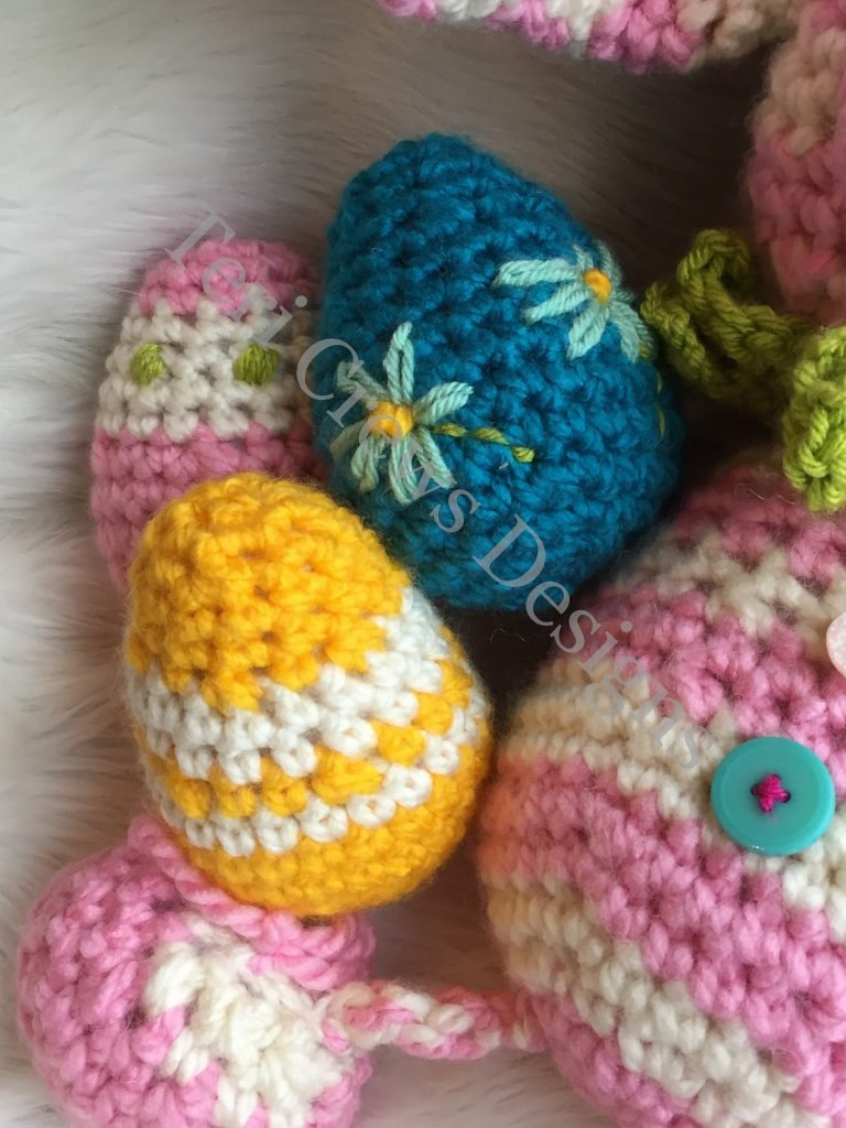Cute Chunky Eggs - Free Pattern Friday