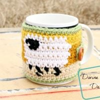 Dancing Sheep Mug Cozy - Free Pattern Friday
