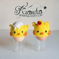Easter Chicks Egg Cozies - Free Pattern Friday