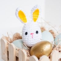 Easter Egg Bunny Rattle - Free Pattern Friday