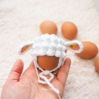 Easter Egg Lamb Hat - Free Pattern Friday