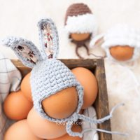 Easter Egg Mini Bunny Hat - Free Pattern Friday