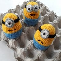 Easter Egg Minions - Free Pattern Friday