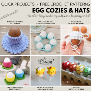 Easter Egg Patterns Free Pattern Friday. Quick and fun Easter Projects.