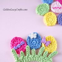 Easter Egg and Grass - Free Pattern Friday